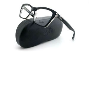 New Ray-Ban Frames Cat Eye Womens Acetate Black